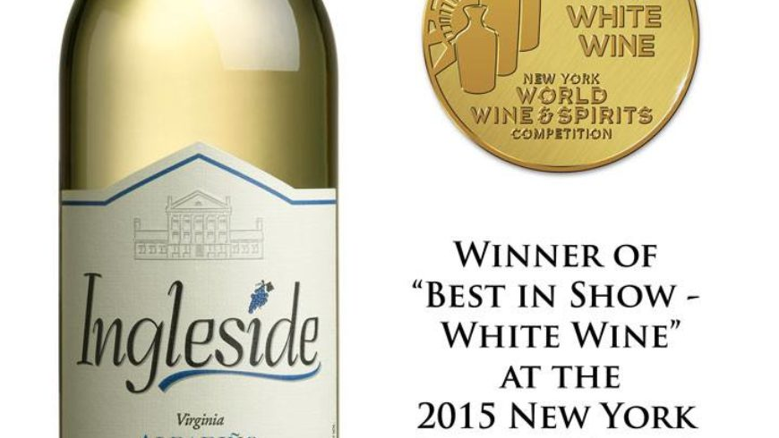 "Our 2014 Albariño wins ""Best White Wine in Show"" in NYC!"